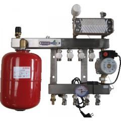 Henco 1 groeps regelunit vloerverwarming UFH-0405-SRWE1