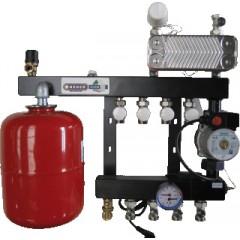 Henco 1 groeps regelunit vloerverwarming UFH-0405-SWE1
