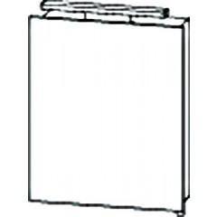 Bruynzeel Mino spiegelkast 50x62x16 aluminium 221491