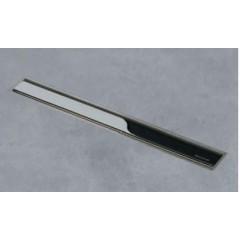 Easy Drain Aqua Jewels XS zero gepolijst 30cm met zijuitlaat 50mm waterslot 50mm RVS AJXS-30-ZP