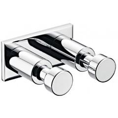Emco System 2 ophanghaak set 2-delig chroom 357400100