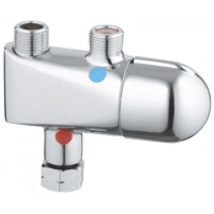 Grohe Grohtherm-Micro onderbouwthermostaat chroom 34023000