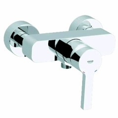 Grohe Lineare douchekraan zonder omstel met koppelingen HOH=15cm 46mm met instelbare doorstroombegrenzer chroom 33865000