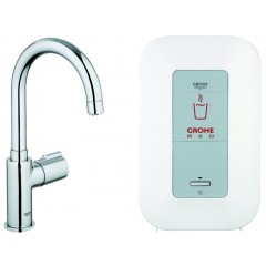 Grohe Red 1-gats keukenkraan mono met single boiler 4 liter 2100W chroom 30085000
