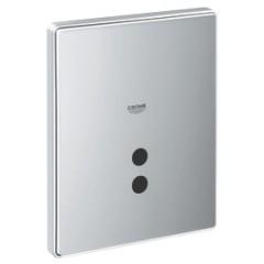 Grohe Skate tectron urinoir bedieningsplaat met infrarood electronica 230V 37321000