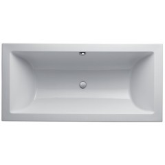 Keramag Preciosa II kunststof bad acryl rechthoekig 190.5x90.5x43cm wit 600395000