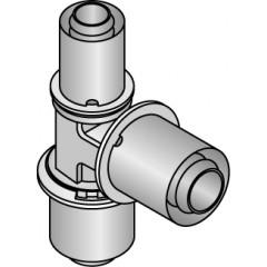 Uponor Composiet pers T-stuk 20X20X16mm 1022725