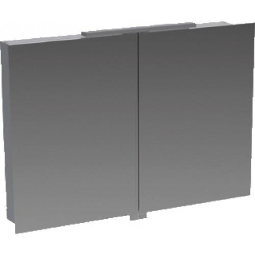 Bruynzeel Badkamer Spiegelkast.Bruynzeel Spiegelkast 90x62x16 Aluminium 221495