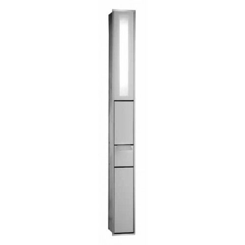 emco asis module 150 toiletmodule inbouw met verlichting chr wit 971027814. Black Bedroom Furniture Sets. Home Design Ideas