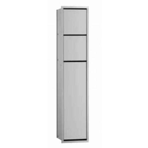 emco asis module 150 toiletmodule inbouw chr zwart 975027950. Black Bedroom Furniture Sets. Home Design Ideas