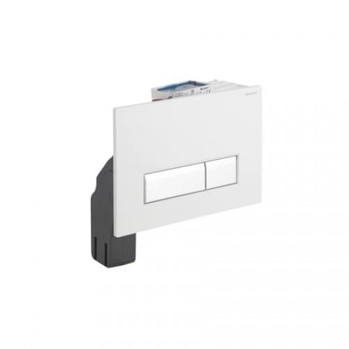 geberit sigma 40 bedieningsplaat 2 knops t up320 met geurafzuiging wit geb alu 115600kq1. Black Bedroom Furniture Sets. Home Design Ideas