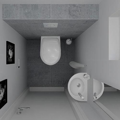 Compleet toilet aanbieding