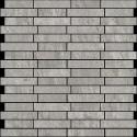 Atlas Concorde Brave Wall Design grey mozaiek 1,7x6,4 0 30,5x30,5 9BBE