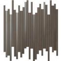 Atlas Concorde Dwell Wall Design brown leather line decortegel 26x30,5 9DLB