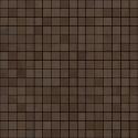 Atlas Concorde Dwell Wall Design brown leather mozaiek 1,7x1,7 0 30,5x30,5 9DQB