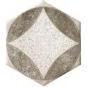Isla Queen Stone luxor esagona inserto davinci decortegel 24x27,7 1003377