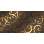 Atlas Concorde Mark Wall moka damask decortegel 40x80 8MDM
