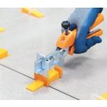 Cero leveling systeem basisset tang, 100 wiggen en 100 lussen 1,5mm voeg