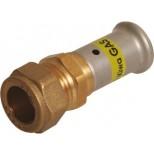 Henco persfitting rechte koppeling 26x22 30PG-2622S