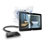 "Aquasound badkamer tv 27"" 69cm met teletekst zwart ASV2769D"