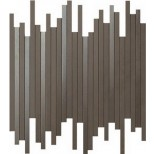 Atlas Concorde Dwell Wall Design brown leather line decortegel 26x30,5 9DLB