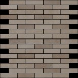 Atlas Concorde Dwell Wall Design greige brick mozaiek 1,7x7,4 30,5x30,5 9DBR