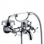Axor Montreux badkraan met handdouche brushed nikkel 16540820