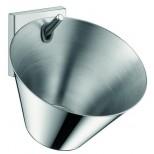 Axor Starck zeepschaal met wandhouder chroom 42733000