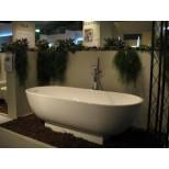 Burgbad Crono vrijstaand bad ovaal 180x80cm wit MWAN180C1