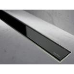 Easy Drain Modulo TAF rooster 80cm glas zwart MLGS800