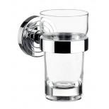 Emco Polo glashouder met glas chroom 072000100