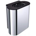 Emco System 2 prullemand 30liter wandmodel chroom 355300102