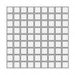 Energieker Cerabeton anthraciete mozaiek 30,2x30,2 W219