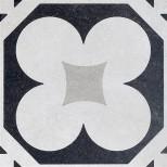 Fioranese Cementine Black&White 4 vloertegel 20x20 CBW20C4