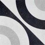 Fioranese Cementine Black&White 5 vloertegel 20x20 CBW20C5