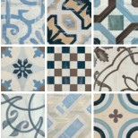 Fioranese Cementine colors mix vloertegel 20x20 IND20R