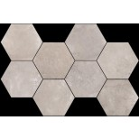 Flaviker Backstage ash hexagon decortegel 36,8x55,2 BKES22R