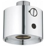"Grohe Eurodisc SE / Europlus E afsluiter voor 36020 en 36021 1/2""x3/4"" chroom 42277000"