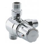 Grohe Automatic-2000 centraal thermostaat zonder koppelingen chroom 34616000