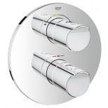 Grohe Grohtherm-2000 afbouwdeel T voor inbouw badkraan thermostatisch 35500 chroom 19355001