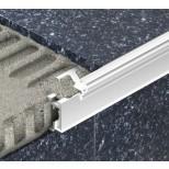 Schluter Liprotec PB verlichtingsprofiel voor traptrede 2,5m mat aluminium LTPB25AE