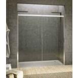 Sealskin Duka 4200-2 2-delige schuifdeur vast deel rechts QTN2 R 1020-1100 chroom zilverhoogglans / gesatineerd glas