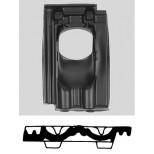 Ubbink doorvoerpan 131mm 25°-45° mulden 1-pans 0170040