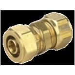 Vsh Multisuper Knel rechte koppeling 14x14mm messing 892012