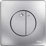 Wisa Gaia bedieningsplaat dualflush DF matchroom 8050417031