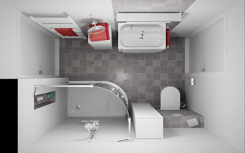 Badkamer ossendrecht for App badkamer ontwerpen
