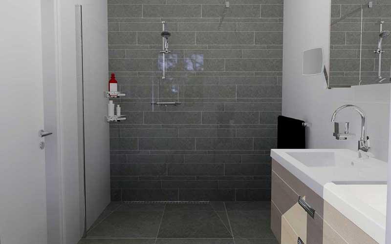 Badkamer aanbieding - Tegel patroon badkamer ...