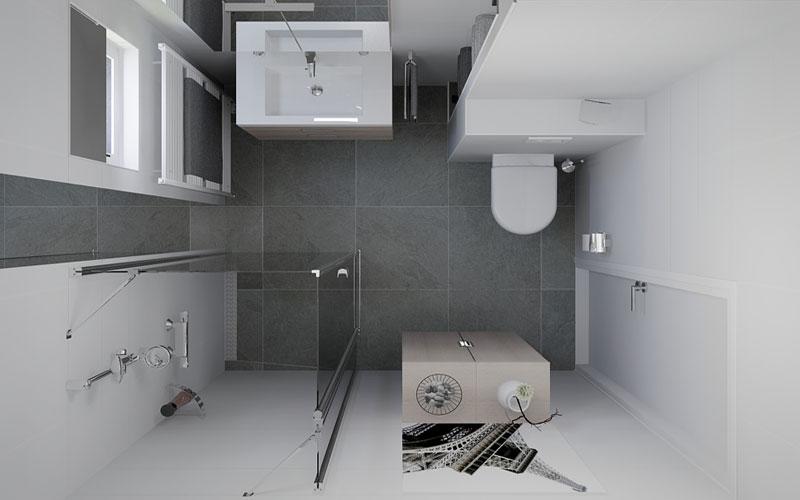 Badkamer Kleine Ruimte: Kleine badkamer met inloop. Kleine badkamer ...
