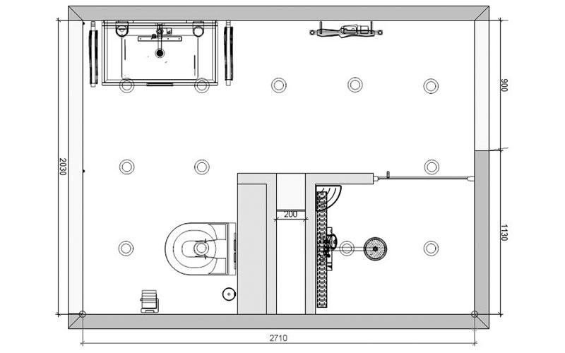 20170321 191736 badkamer showroom model - Badkamer kamer model ...