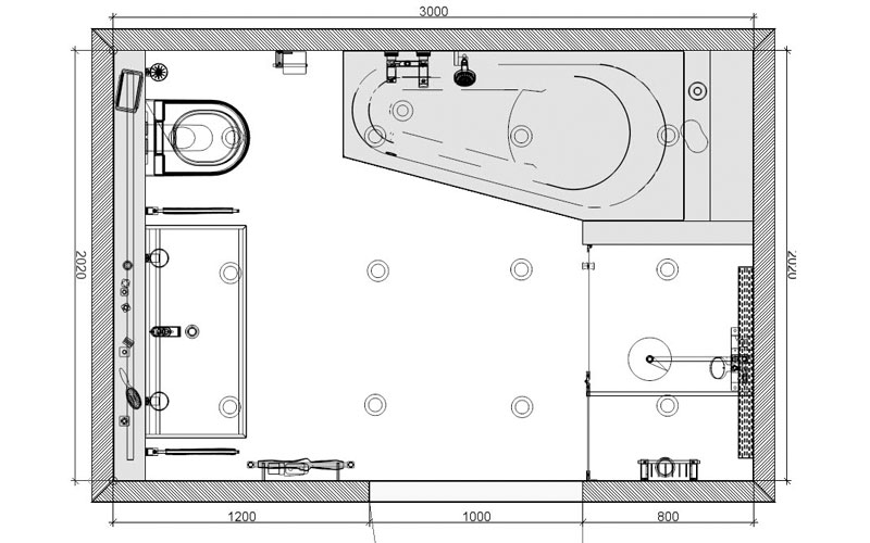 Badkamer dinteloord de ruimtelijke werking van een spiegel - Kaart badkamer toilet ...